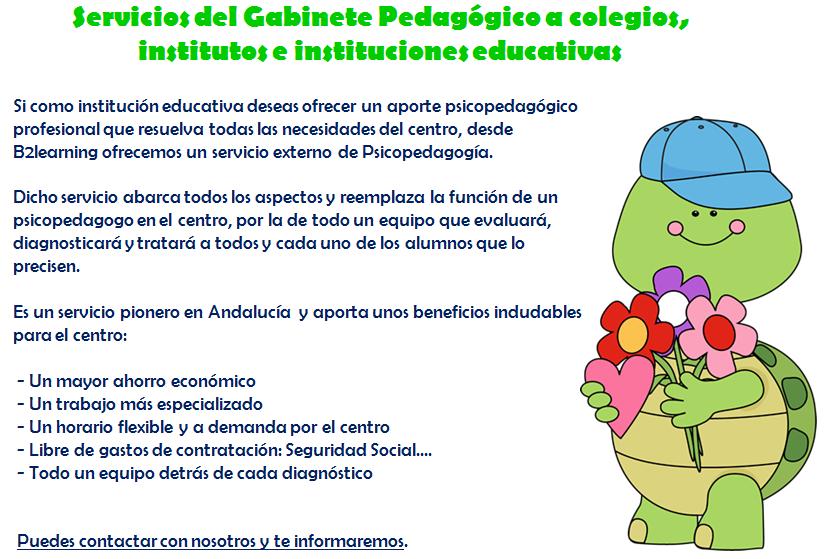 Gabinete Pedagógico para Colegios